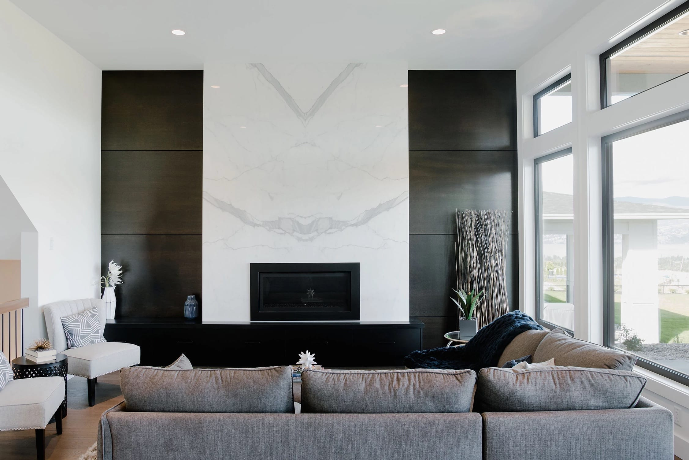 Modern Fawn Run Interior built by Impact Builders