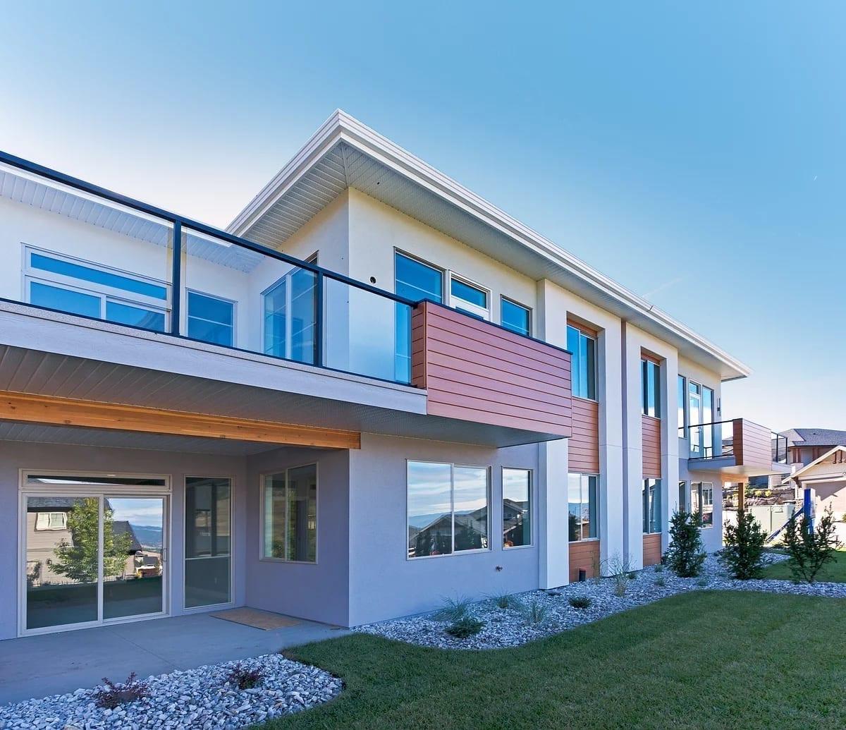 Dunbar Villas contemporary exterior, built by Impact Builders