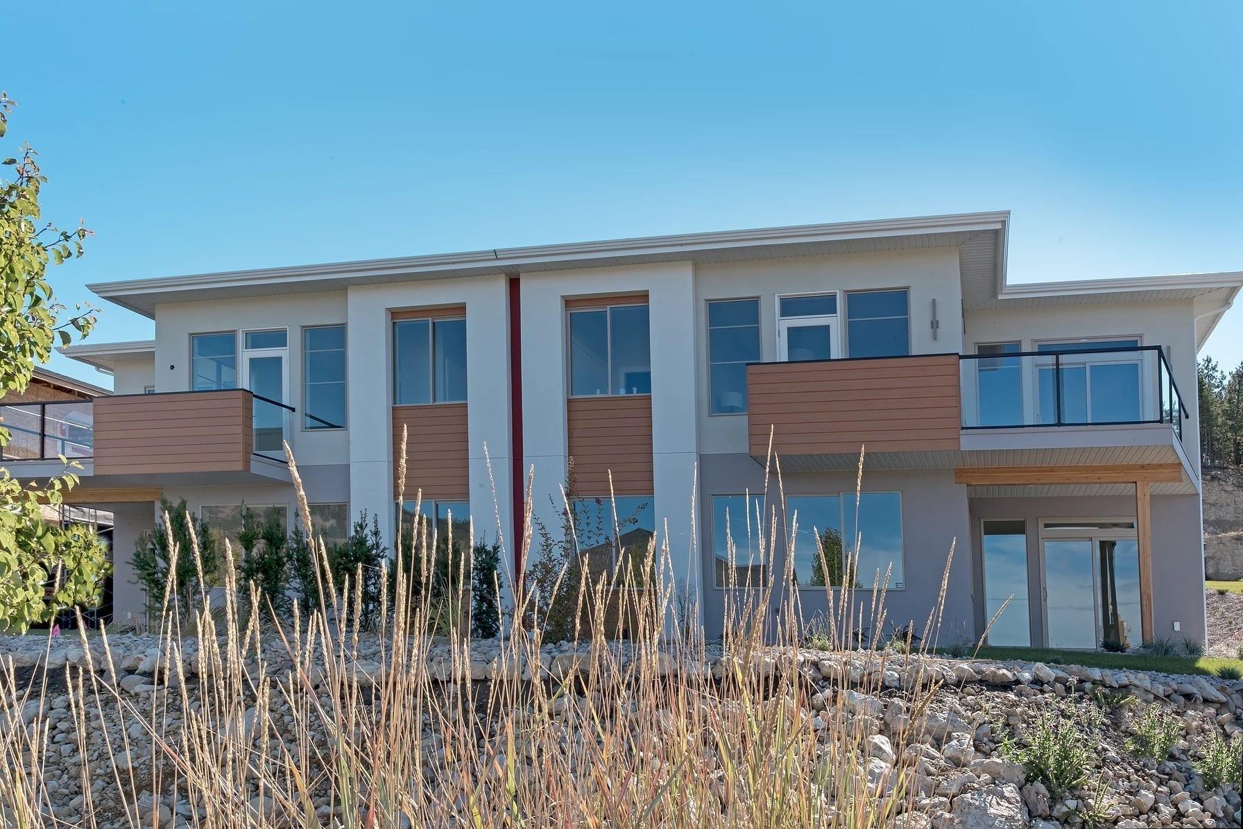 Dunbar Villas ontemporary exterior, built by Impact Builders