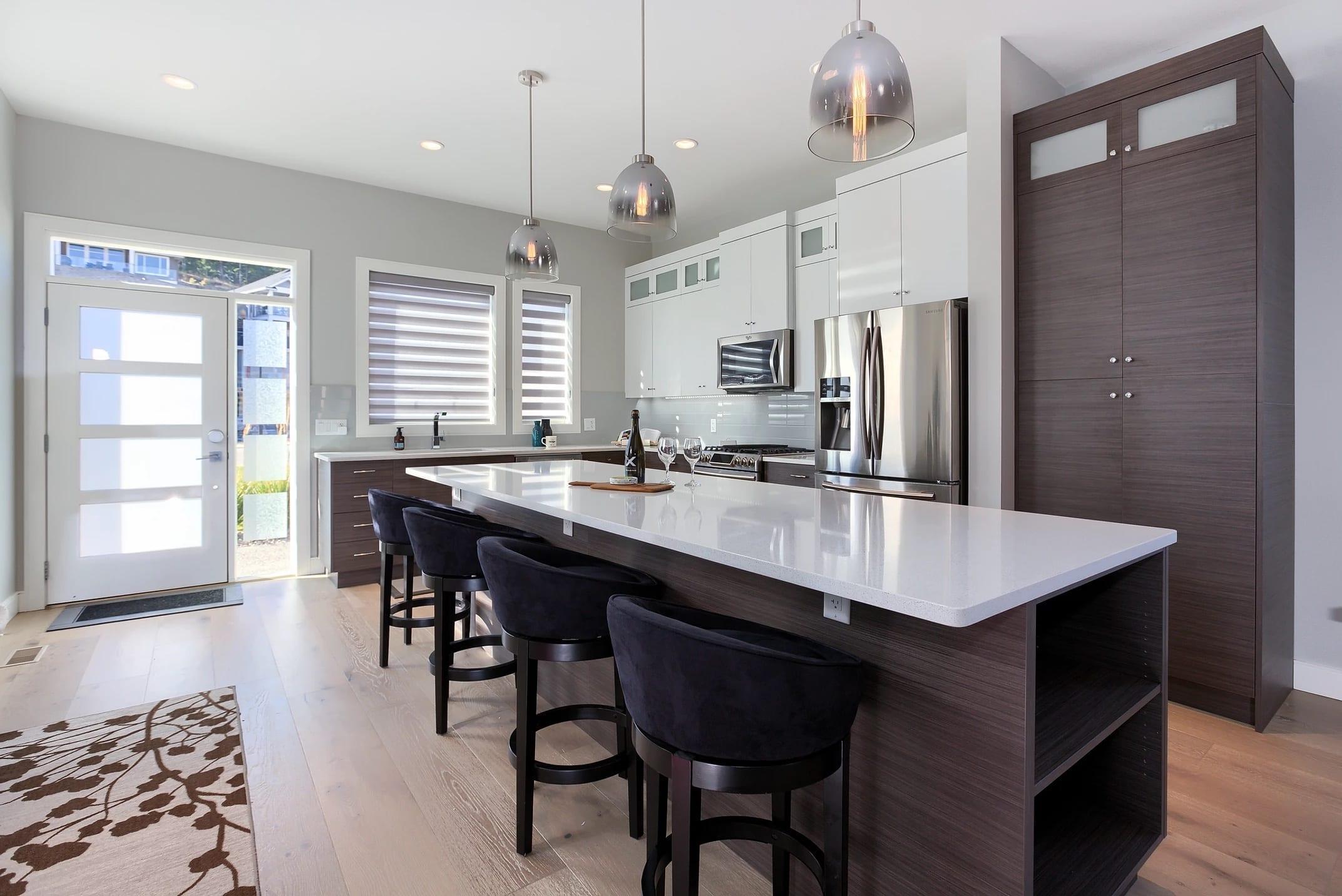 Dunbar Villas contemporary kitchen, built by Impact Builders