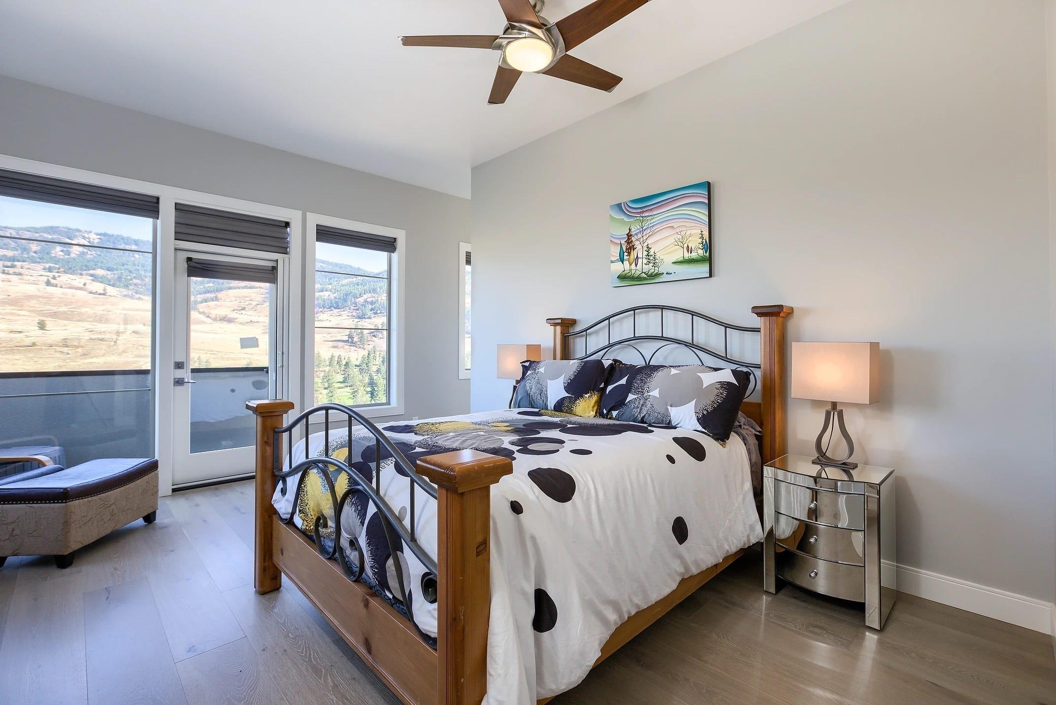 Dunbar Villas contemporary bedroom, built by Impact Builders